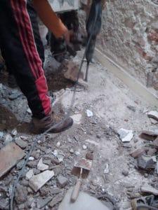 Кърти подова замазка София