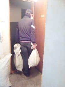 Събиране и изнасяне на строителни отпадъци в София