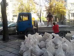 Изхвърляне на строителни боклуци София